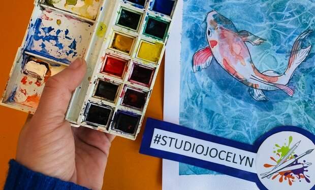 Free online art lesson for kids aged 10+