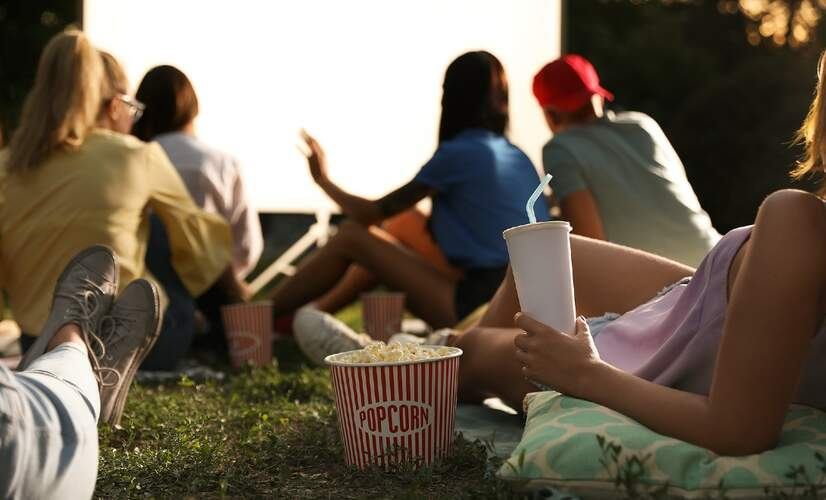Roffa Mon Amour open-air cinema Rotterdam