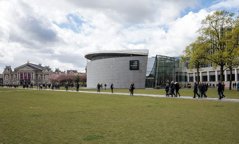 Here to Stay exhibition at Van Gogh museum with an online preview