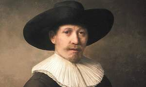 Perfect Rembrandt painting created with 3D printer and computer