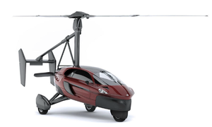 FlyDriving in the Netherlands: You can now buy PAL-V's flying car