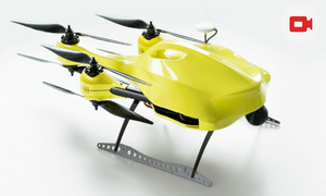 Dutch engineering student invents ambulance drone