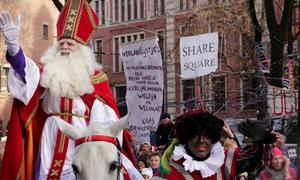 Sinterklaas in Town