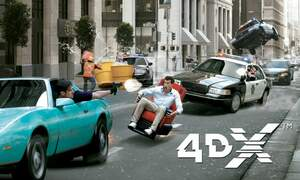 Win 4DX tickets at Pathé cinemas in the Netherlands