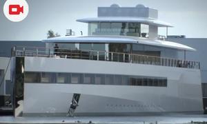 Steve Jobs' Yacht Unveiled in Aalsmeer
