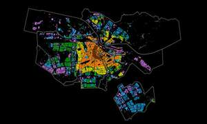 Mapping Amsterdam: the city's statistics in maps