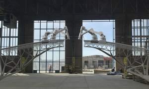 Robots to create 3D printed bridge in Amsterdam