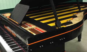Dutch composer builds piano out of LEGO