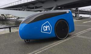 Albert Heijn is trialling driverless delivery robots!