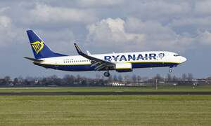 Ryanair pilots striking in the Netherlands