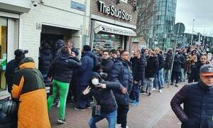 Stockpiling cannabis: Long queues formed outside Dutch coffeeshops
