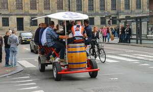 No more beer bikes in Amsterdam centre