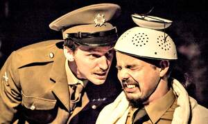 Blackadder Goes Forth: Stage play by Mike's Badhuistheater
