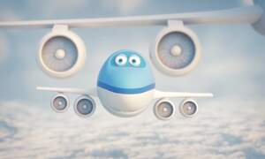 KLM: Bluey and the flower parade