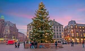 Lighting the Christmas Tree on Dam Square