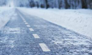 Biking safely during Dutch winter