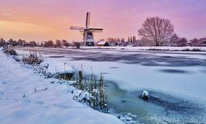 Freezing cold weather coming to the Netherlands