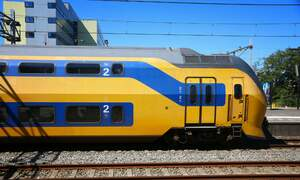 Trains to Schiphol not running this weekend