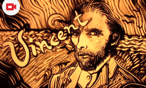 [Video] Sand Animation - Tribute to Vincent van Gogh