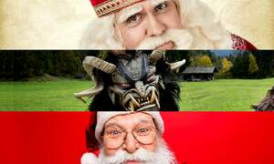 The many shapes of Sinterklaas