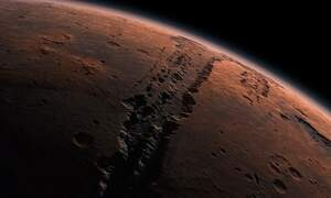 Mars clearly visible from the Netherlands throughout October