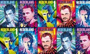 Dutch DJs get their own stamps