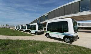 Driverless transport arrives in the Netherlands