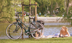 Green space abounds in the Netherlands