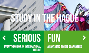 New website dedicated to university students in The Hague