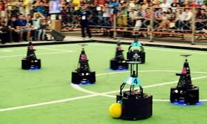 Netherlands wins robot football World Cup in Brazil