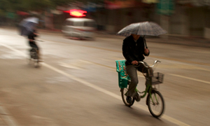 Groningen to aid wet cyclists with rain sensors
