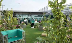 World's first Airport Park at Schiphol