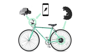 CydeKick: A power-producing bike accessory