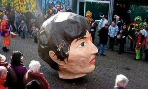 Carnival rivals in the South, Limburg vs Brabant!