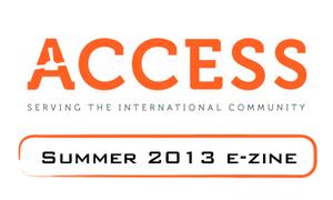 [Summer 2013] ACCESS e-zine