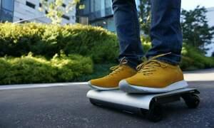 WalkCar: A laptop-sized transporter