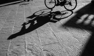Cyclists without lights are a danger on the road