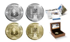World's first QR code coins