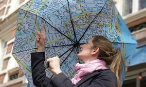 Rainmap: an umbrella and city map in one
