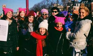 The Women's March: Thousands gathered for equality in Amsterdam
