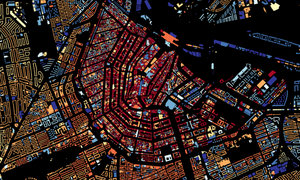 Interactive map shows age of any Dutch building