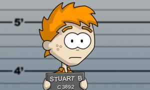 Invader Stu: Train ticket criminal