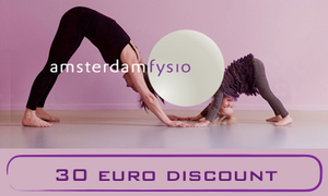 Save 30 euros on Amsterdam Fysio health courses