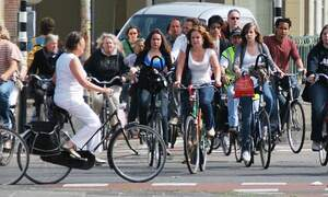 Cyclist & Pedestrian deaths in the Netherlands not falling