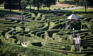 Five magical mazes in the Netherlands