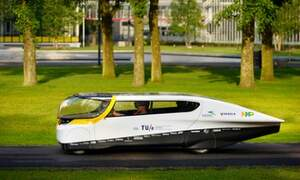 Stella: Ground-breaking solar car created by Dutch University students
