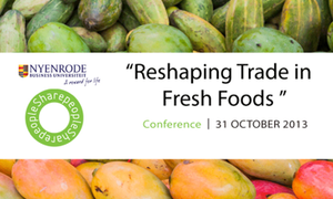 [Conference] Reshaping Trade in Fresh Foods