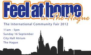 Feel at Home in The Hague - The International Community Fair 2012