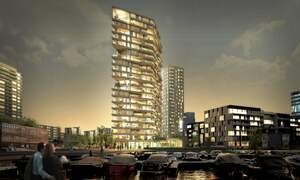 Landmark timber skyscraper to be built in Amsterdam