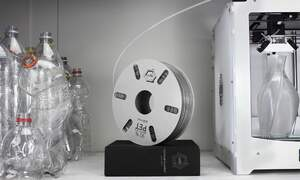The Dutch pioneer 3D printer filament from recycled plastic